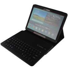 Samsung Galaxy Tab S 10.5 inch T800 T801 T805 Bluetooth Keyboard Optical Ultra Thin Leather Case Black