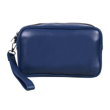 AndBun Pouch Executive Pria Xpouch 5.0 Pure Leather Blue Blue
