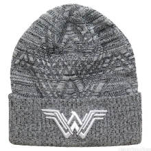 NEW ERA Wonder Woman - WW Logo Knit Pattern Grey (Beanie Hat) [All Size] 11453088