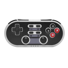 [OUTAD] Game Controller Wireless Mini Pad For Switch Vibration Motion Control Grey