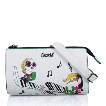 Gosh Lunaria-263 Pittura Sling Bag White