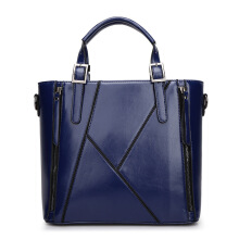 SiYing simple New ladies bag stitching shoulder bag Messenger bag