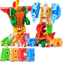 Deform Letter Dinosaur 4in1 (3188)
