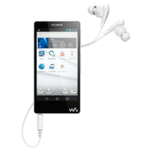 SONY nw-f886 dazzle color intelligent touch screen MP3/MP4 music player 32GB W white