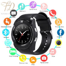 PEKY V8 Smart Watch Bluetooth Touch Screen Waterproof Sport Smartwatched with Camera SIM Card Slot for Android