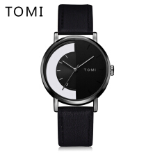 PEKY Tomi T017 Mens Watches Men Business Sport Leather Strap Watch Quartz Wristwatch Dress Vintage Style Relogio