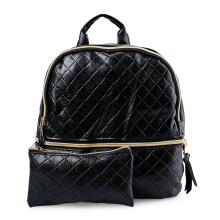 HUER Wija Embossed Backpack 9453-064 Black