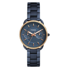 Fossil ES4259 Tailor Ladies Blue Dial Blue Stainless Steel Strap [ES4259]