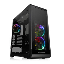 THERMALTAKE View 32 TG RGB Black Mid Tower PC Case [CA-1J2-00M1WN-00]