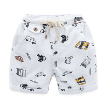 Summer with printing cartoon shorts boy children beach short shorts