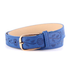 Noah Fashion pu pin buckle printing ladies wide belt
