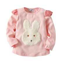 Long Sleeve Girls Kids & Toddler T-Shirt 100% Cotton