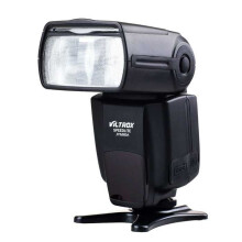 Universal Flash Viltrox JY-680A LCD For Canon Nikon Pentax Olympus Black
