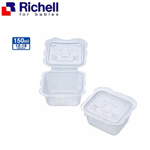 Richell Baby Food Container 150 ml Isi 6 Pcs