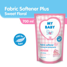 MY BABY Fabric Softener Plus Ironing Aid Sweet Floral - 700ml