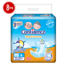 CONFIDENCE Adult Premium [L] Carton 15's x 8 bag