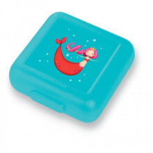[free ongkir]Crocodile Creek Sandwich Keeper - Light Blue Mermaid