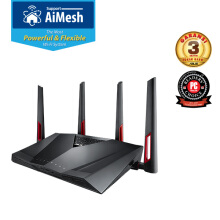 ASUS RT-AC88U AC3100 WiFi Dual-band Gigabit Gaming Wireless Router with AiMesh & AiProtection