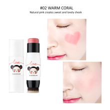 Karadium Pucca Love Edition Cream Cheek Stick : #02 Warm Coral