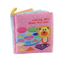 Farfi Baby Sound Fabric Cloth Books Intelligence Development Learning Educational Toys