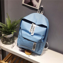 Keness Student bag female Korean version of the wild casual backpack trend backpack