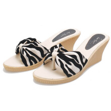 SANDAL HIGH HEELS / WEDGES KASUAL WANITA - BDN 004