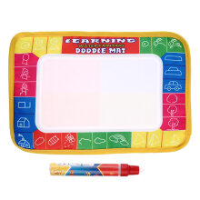 [COZIME] Baby Water Drawing Painting Writing Mat Board & Pens Doodle Games Kids Toys Multicolor 29*19cm
