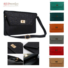 [Red Monkey] Mini Quilted Stud Clutch Bag Combination