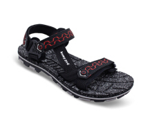 HOMYPED NABIRE 02 Sandal Gunung Pria Black/Red
