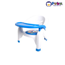 Puku Baby Plastic Arm Chair ( baby seat ) 30312 Blue