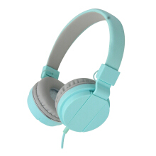Vinmori New Wired Headphones With Microphone Over Ear Headsets Bass HiFi Sound Music Stereo Earphone