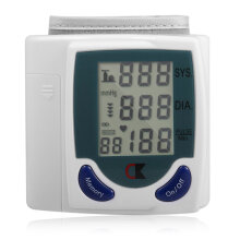 Digital  Wrist Blood Pressure Monitor With Heart Beat Rate Pulse Measure