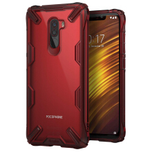 Ringke FUSION X Case for Xiaomi Pocophone F1 Original Casing - Ruby Red