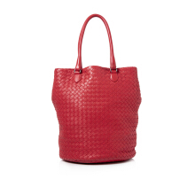 Pre-Owned Bottega Veneta Intrecciato Leather Tote