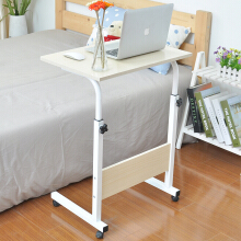 Double bedside computer table white maple lazy removable lifting table notebook table sofa side table small coffee table table writing office desk desktop home table