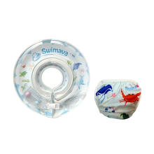 Swimava SWM218 Ocean Life G1 Starter Ring with Diaper - Blue Blue