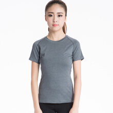 SBART Women Athletic Workout Yoga Sport T Shirt Tee Short Sleeve Running Fitness Gym Tops Dry Fit