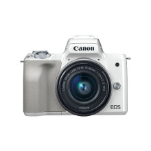 Canon EOS M50 Kit 15-45mm Kamera Mirrorless - White White