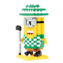 Qcf Bricks 9528 Minion Golf Multicolor