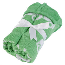 [OUTAD] Lovely Cotton Soft Hooded Towel Bath Shower Wear Children Kids Bathroom Warm Green