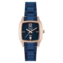 Alexandre Christie AC 2454 LD BURBU Passion Ladies Blue Dial Blue Stainless Steel [ACF-2454-LDBURBU]