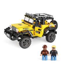 Xingbao Bricks Xb03024 Offroad Adventure Yellow Black