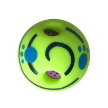 [kingstore]Dog Cats Playing Ball Safe Training Ball With Funny Sound Pet Toy For Dogs Green Green