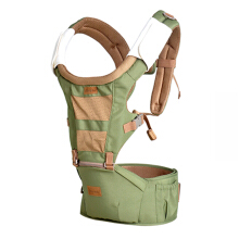 Jantens Baby Carriers Waist Stool 3 in 1 Baby Sling Hold Waist Belt Backpack  green Green