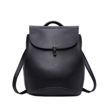 SiYing Korean version of PU leather girls college wind backpack