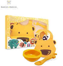 Marcus And Marcus Baby Feeding Set - Yellow Giraffe