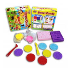 Fun Doh Sweet Candy Set Incl 2pcs Doh