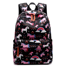 Keness Fashion women's canvas backpack student bag outdoor travel backpack