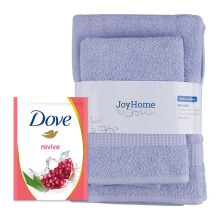 JD.ID Paket Special Bath Woven dan Body Wash Revive Refill - Lilac