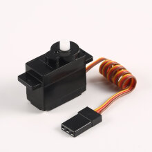COZIME Plastic Gear Servo 5g for 1/24 Wltoys K969 K979 K989 K999 RC Car Truck Part Black